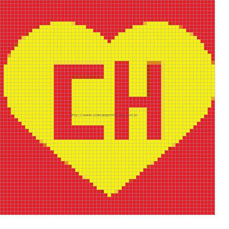 """E como não podia faltar... Ai vai o gráfico do símbolo do Chapolin Colorado. Não encontrei um gráfico que fosse """"legível"""" do Chapolin, por isso criei a partir do site abaixo:"""
