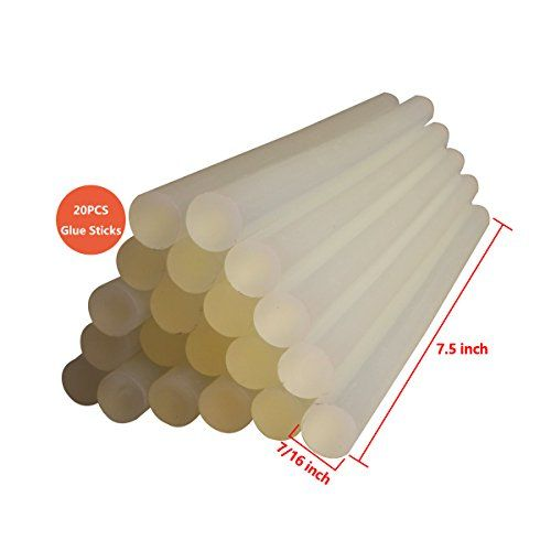 FOLOTE Full Size Strong Hot Melt Glue Sticks 716 x 75 20 Sticks per Package ** You can find more details by visiting the image link.