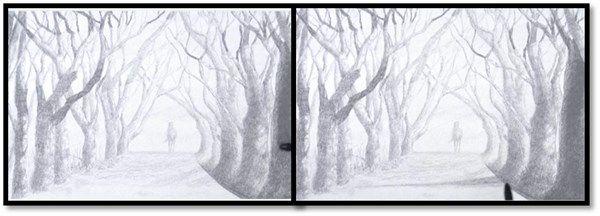 aprender a darle sombras a un paisaje 4