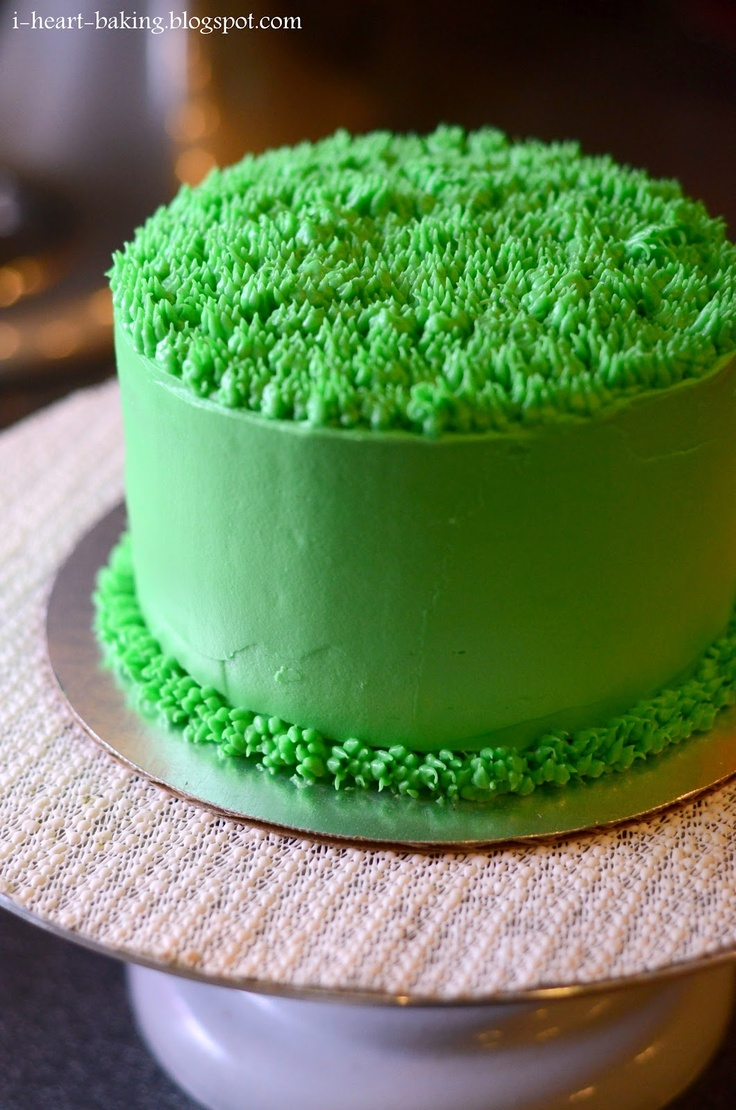 Cake Decorating Tips To Make Grass : Best 10+ Grass cake ideas on Pinterest Peppa pig ...