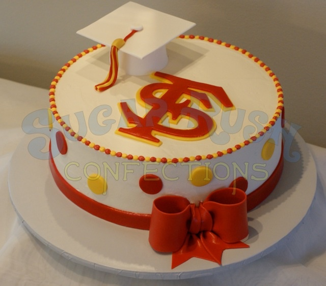 17 Best Images About Seminoles Cakes On Pinterest Gold