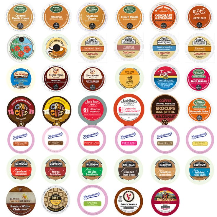 Flavored Coffee Single Serve Cups for Keurig K cup Variety Pack Sampler,40 count #ad