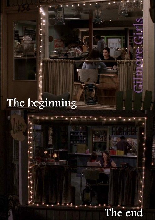 wish they would have continued the show or at least have some kind of reunion. #GilmoreGirlsObessession