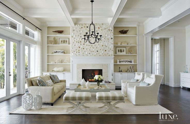 Elegant coastal living room coastal living rooms pinterest for Elegant coastal living rooms