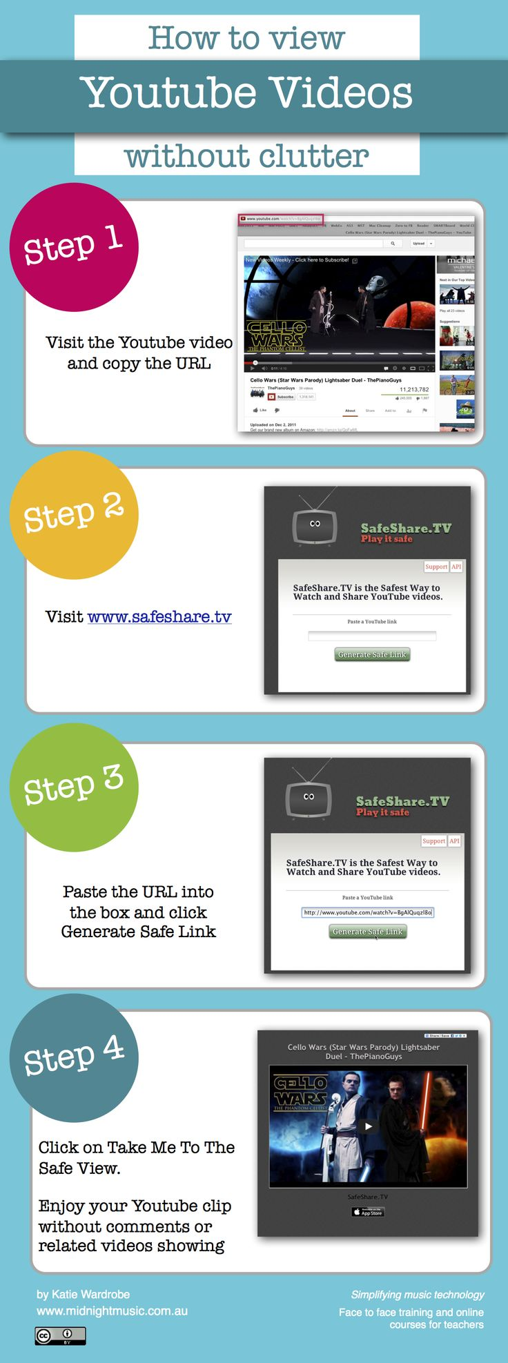 Viewing Youtube Clips Withoutments Or Related Videos The Sharesafe Website  Is A Simple
