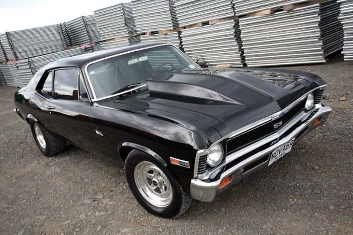 69' Chevy Nova SS.Looking good as it becomes harder and harder to find one like that.Nice photo