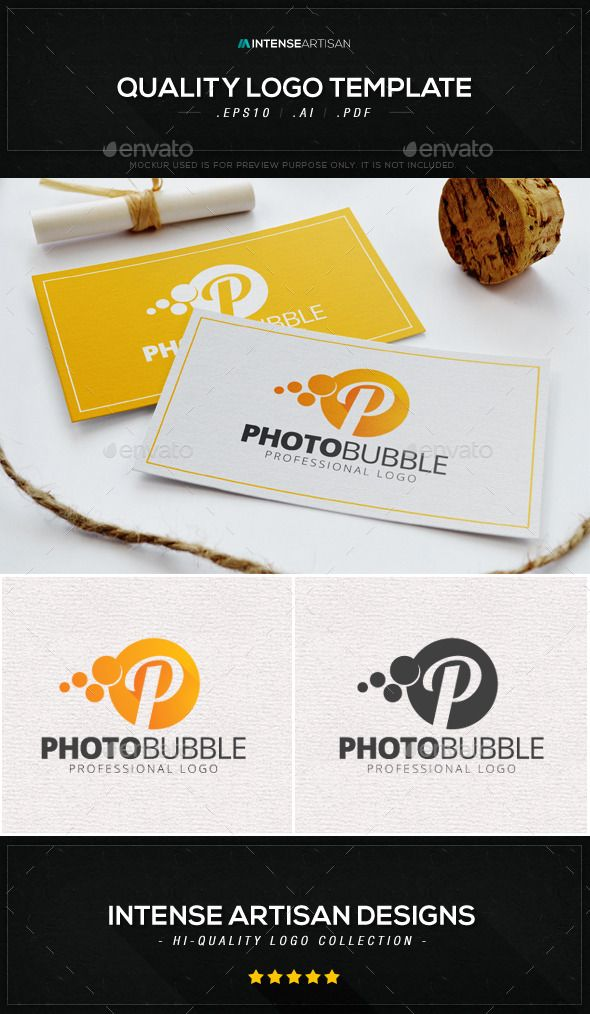 Photo Bubble  Letter P Logo Template — Vector EPS #p logo #ready • Available here → https://graphicriver.net/item/photo-bubble-letter-p-logo-template/8883208?ref=pxcr