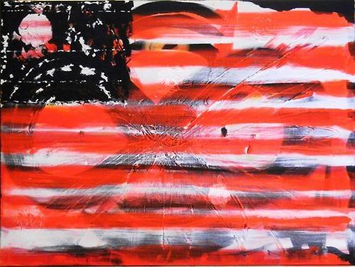 Angry Bird Flag Miaaw.com  #art #colors #acrylic #flag #miaaw.com