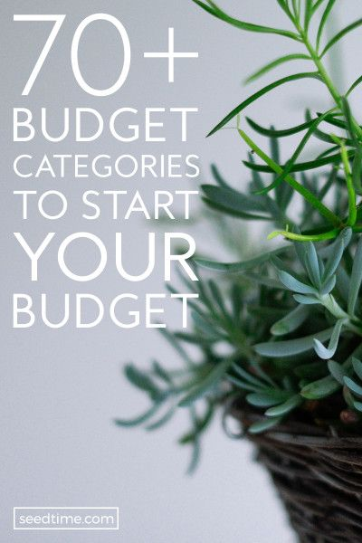 70+ Budget Categories (Your Shortcut To Budgeting Success)