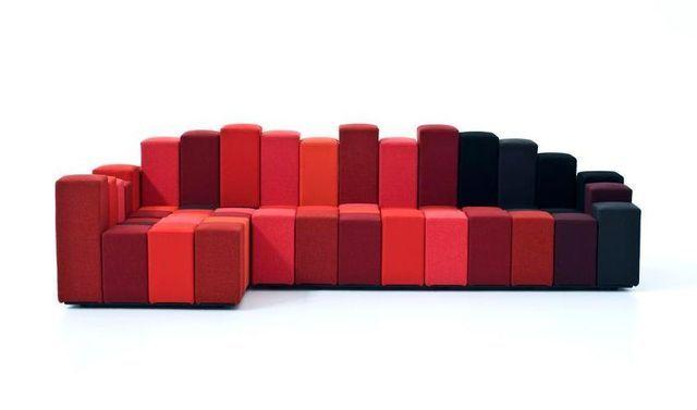 Модульный диван — трансформер Do-Lo-Rez от Ron Arad — HD INTERIOR