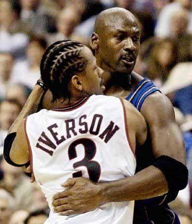 Allen Iverson & Michael Jordan