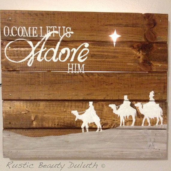 THIS PRODUCT •This is a one of a kind piece using reclaimed wood or reclaimed pallet wood. My signs are handmade and hand painted. They have a
