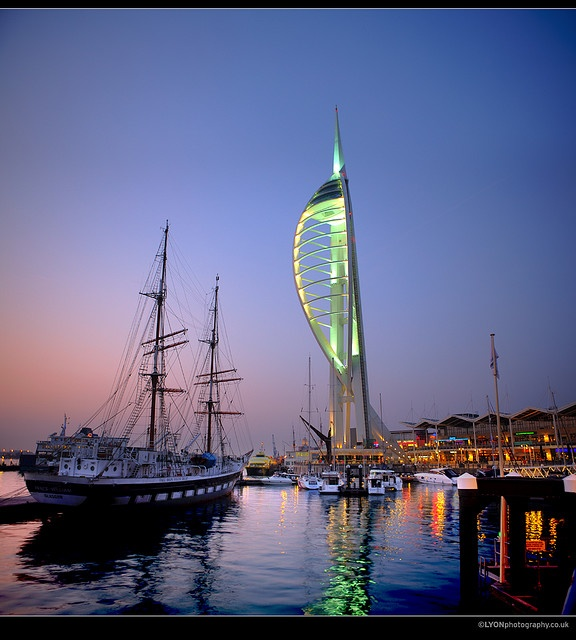 Portsmouth, England. one of the many ports I've been in