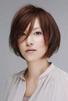 10 Trend Short Haircuts for Asian Women | http://www.short-hairstyles.co/10-trend-short-haircuts-for-asian-women.html