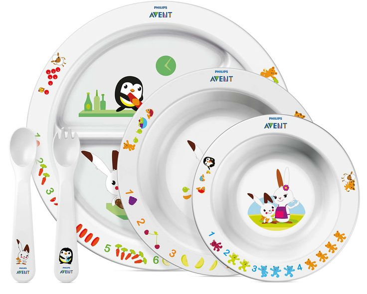 Philips AVENT Toddler mealtime set 6m +