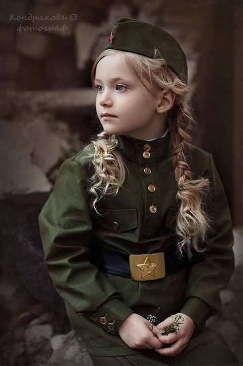 Russian little girl