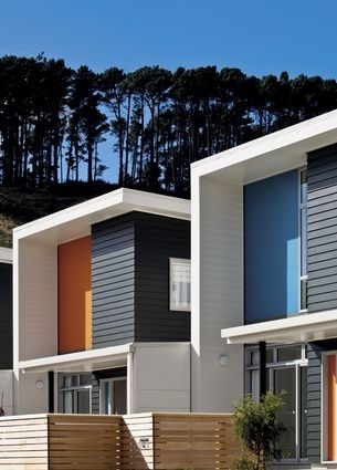 25 best ideas about apartment complexes on pinterest for Townhouse modern design exterior