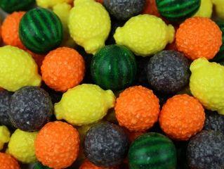 Жевачка жевательная резинка Fancy Fruit 25 мм 850 шт. для вендинговых автоматов Москва