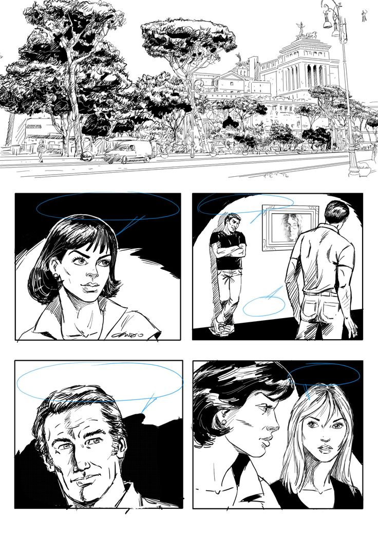 Comics Page by Claudio Vieira de Oliveira