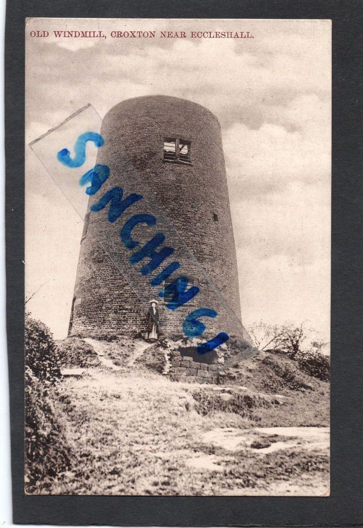 CROXTON OLD WINDMILL NR ECCLESHALL, STAFFORDSHIRE, PUBL W SHAW. C1906 PU 1922 | eBay