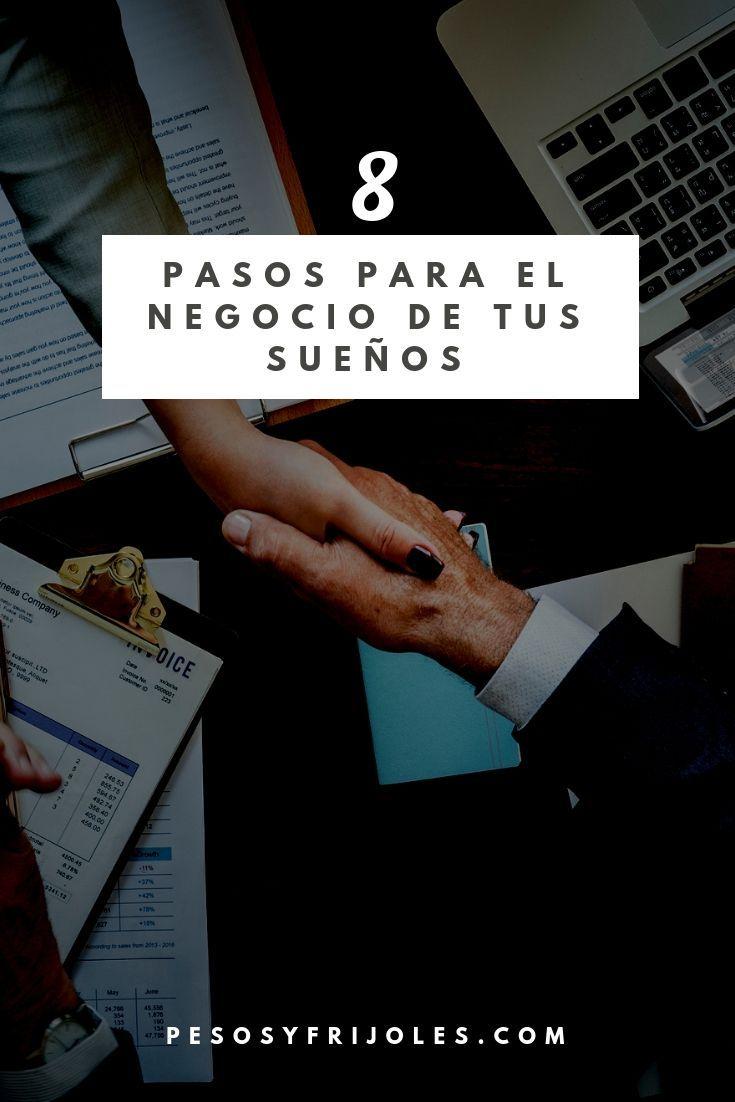 Qué Negocio Puedo Poner 8 Pasos Para El Negocio De Tus Sueños Como Hacer Negocios Finanzas Personales Oportunidades De Negocio