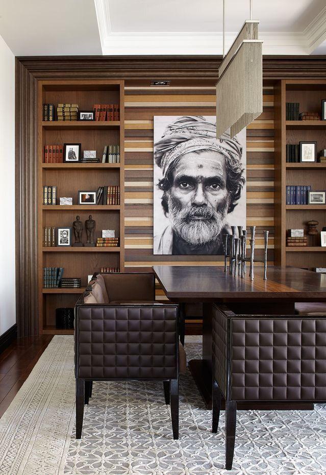 Gainesville Luxury Designer Home: Office Ideas - Decor - Desks- Lights