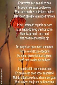 Gedicht rouwen ⭐ Linda ❤ Forever 28 ⭐
