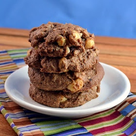 Triple Chocolate Chunk Cookies | Call me Mrs.Cookie Monster | Pintere ...