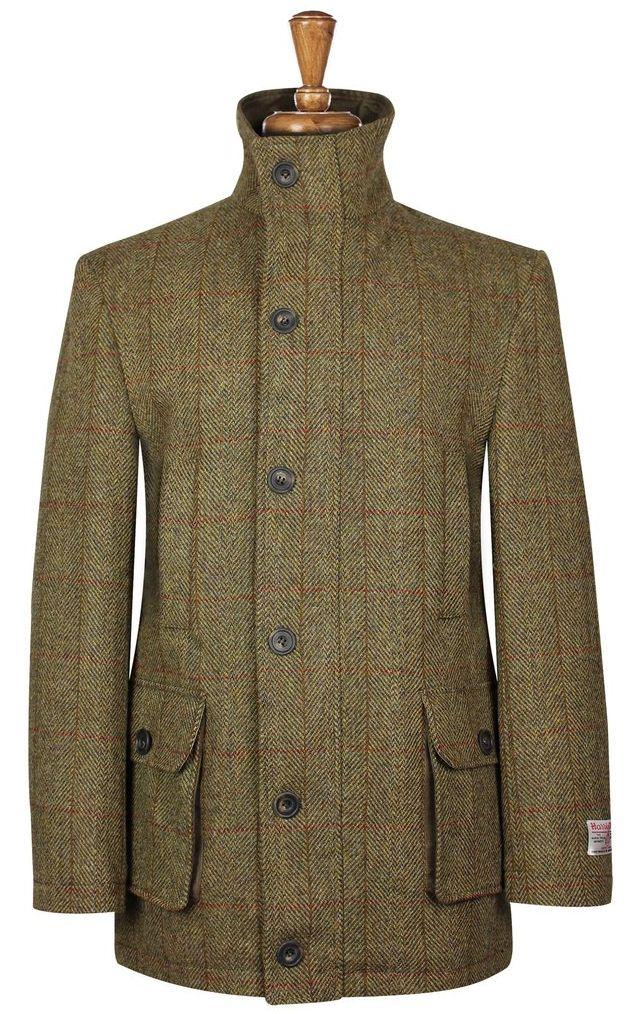 Harris Tweed Boyd Coat Harris Tweed Jacket Tweed Jacket Tweed Shooting Jacket