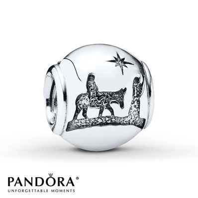 Pandora Charm Silent Night Sterling Silver...got it today for my birthday! !