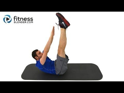 8 Minute Abs Workout - Core Firming at Home Ab Workout Routine - YouTube *****
