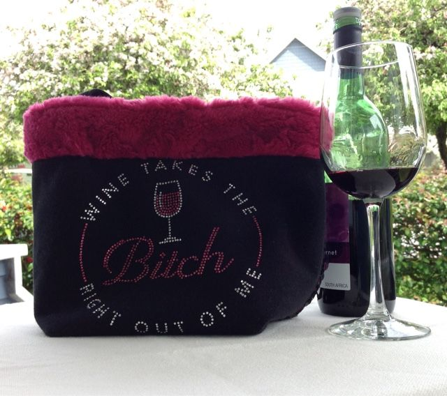 Re-Classified Purses etc.: Wine Takes the Bitch Right Out of Me! Small handba...