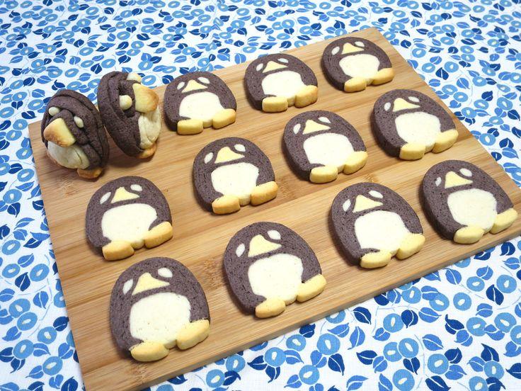 【アイスボックスクッキー⑦】ペンギン♪ by Panda‐W [クックパッド] 簡単おいしいみんなのレシピが233万品