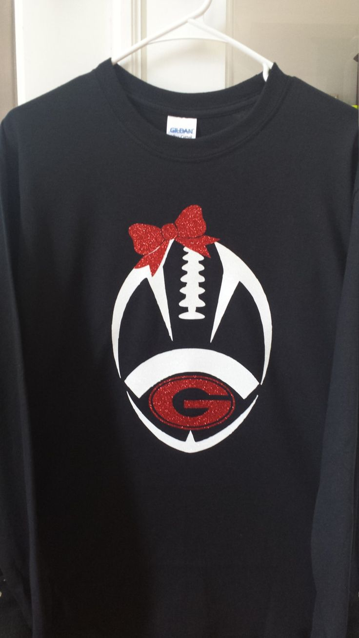 Girls Georgia Bulldog football shirt, Georgia football shirt, Football shirt…