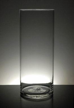 Clear Glass Cylinder Vase 12 in. - $7 ea