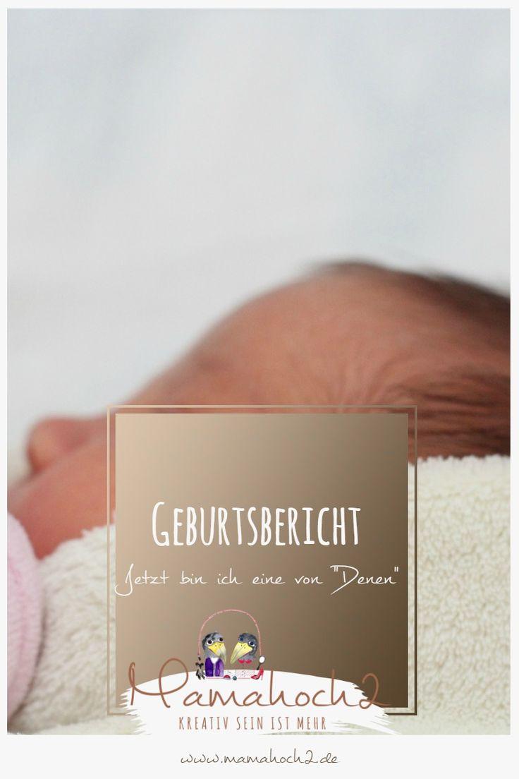 Geburtsberichtbericht: Statt geplanter Hausgeburt nun eine Krankenhausgeburt nach Einleitung wegen Blasensprung