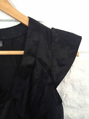 Ladies Ojay Black Silk Cotton Office Corporate Work Shirt Top - Sz 6 - RRP $89  Now selling - Click through to go to eBay auction!