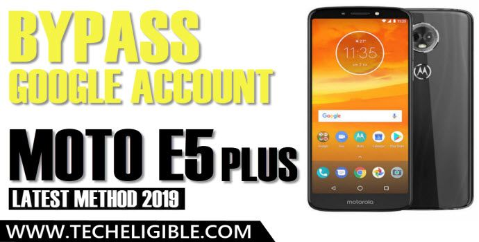 Bypass Google Account Moto E5 Plus and Remove FRP Lock