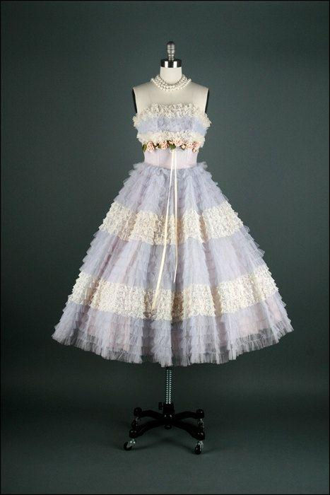 Dress 1950s Mill Street Vintage - OMG that dress!