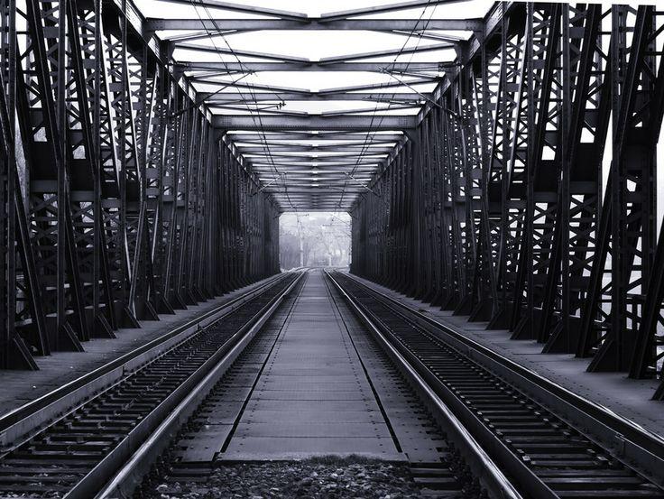 Railway Bridge by Martin Gallie on 500px