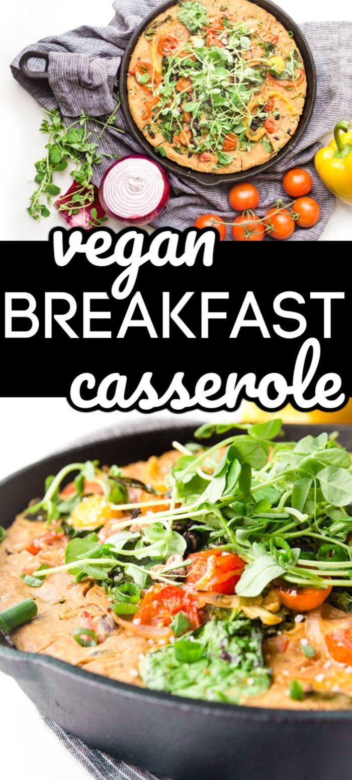 Vegan Breakfast Casserole Happy Food Healthy Life In 2020 Vegan Breakfast Casserole Plant Based Recipes Breakfast Breakfast Casserole