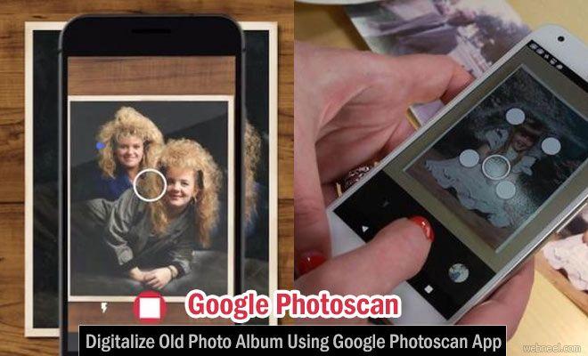 Old Photo Album can be converted Digitally - Google Photoscan App http://webneel.com/google-photo-scan-app | Design Inspiration http://webneel.com | Follow us www.pinterest.com/webneel
