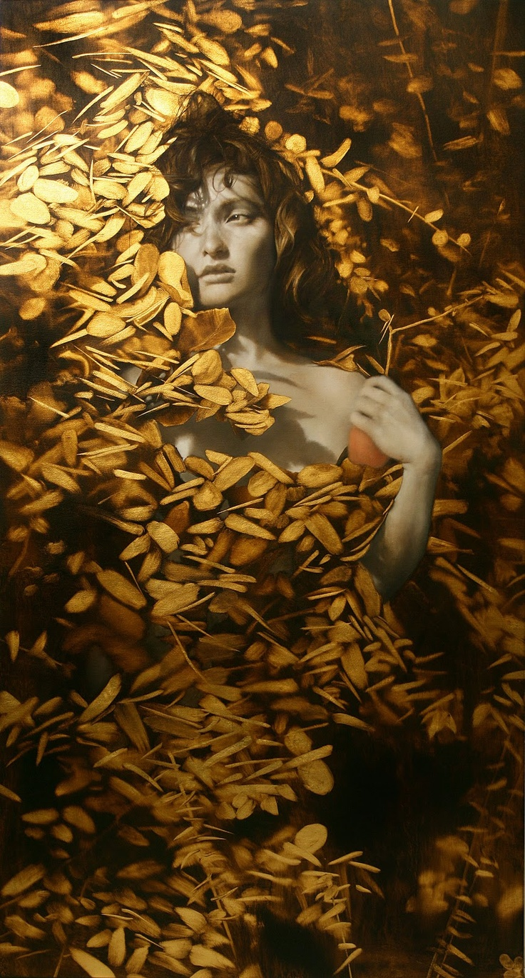 His golden treasure....adorned and adored   Brad Kunkle