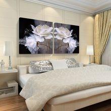 Imagem da flor de Lótus 3d Impressão Em pinturas Da Lona moderna pintura a óleo da parede da arte casa modular bilder fotos cuadro sem Quadros(China (Mainland))
