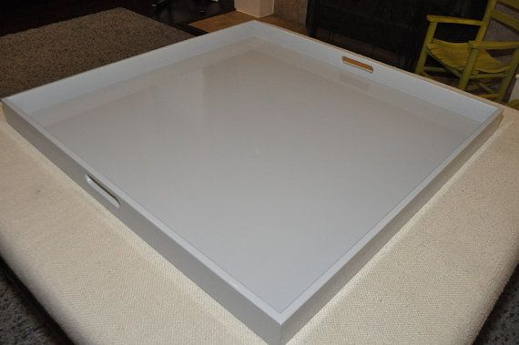 Best 25 Large Ottoman Tray Ideas On Pinterest Large