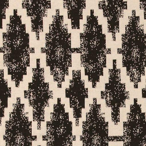Strik jacquard natur m inka mønster