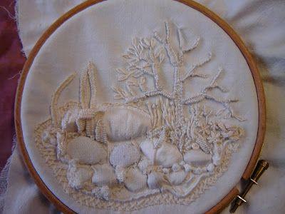 calico garden embroidery - Google Search
