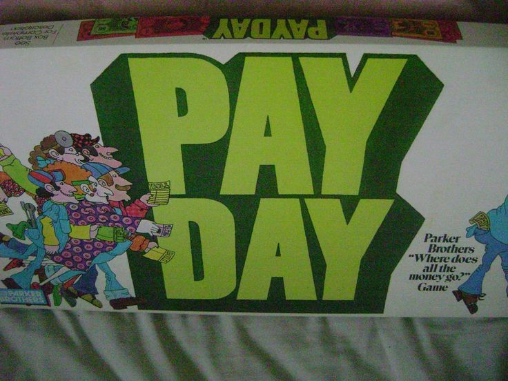 Payday Game  Where Does All The Money Go Parker Brothers 1976  8+Complete #ParkerBrothers