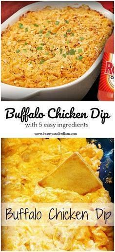 With 5 simple ingred With 5 simple ingredients this whips up...  With 5 simple ingred With 5 simple ingredients this whips up quickly and is an addicting hit every single time. Double the recipe and save extras because it makes great sandwich filling. Buffalo Chicken Dip Recipe Recipe : http://ift.tt/1hGiZgA And @ItsNutella  http://ift.tt/2v8iUYW