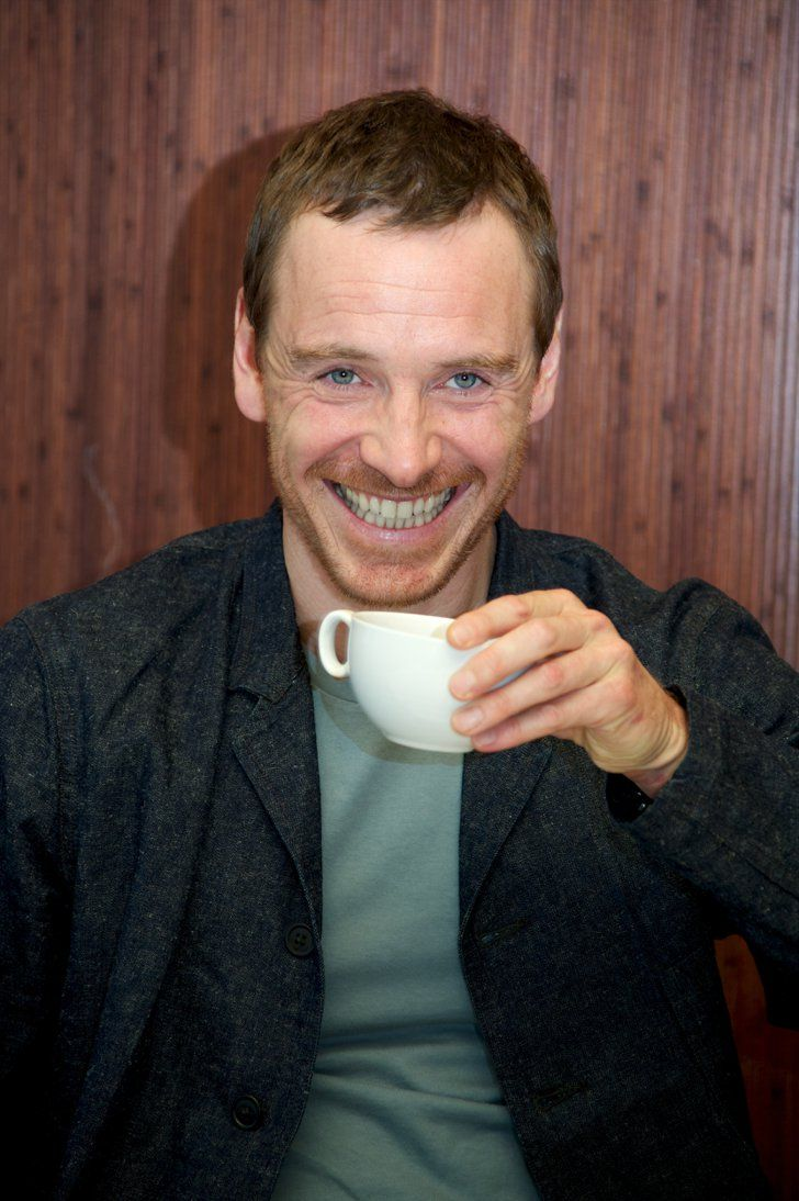 Pin for Later: Here's What 14 Hot Celebrity Guys Would Look Like on a Date With You Michael Fassbender, After You Tell That Backup Joke You Practiced in the Mirror All Day